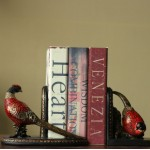 American Rustic Fuguiniao Resin Bookend