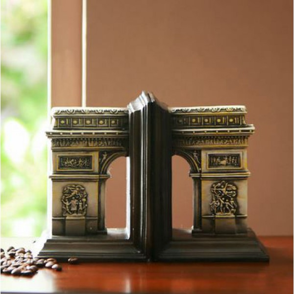 Roman Amphitheater/ Triumphal arch Style Bookend