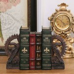American Retro Gear Resin Bookends