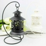 Macedonia Birdcage Iron Candle Holder
