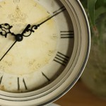 Rustic Antiqued Iron Clock