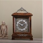 Classic Wooden Table Clock
