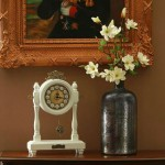 Vintage Grandfather Table Clock