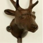 American Deer Head Iron Hook
