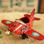 American Double Piston Aircraft Iron Miniature