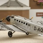 Vintage Aircraft Junkers Ju 52 Iron Miniature