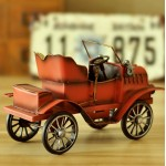 Classy Stanley Motor Carriage Iron Model