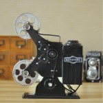Antiqued Keystone Projector 1920s Iron Model