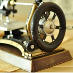 Victorian Agenoria Sewing Machine Iron Model