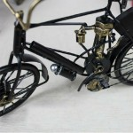 Zakka-style Retro Bicycle Iron Miniature