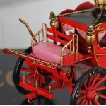 1898 Royal Spyker Carriage Iron Miniature