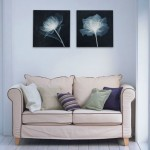 Simple Lotus Hand-painted Abstract Oil Painting Set