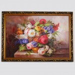 European Classical Flower Oil Painting