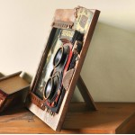 American Country Style Wooden Photo Frame