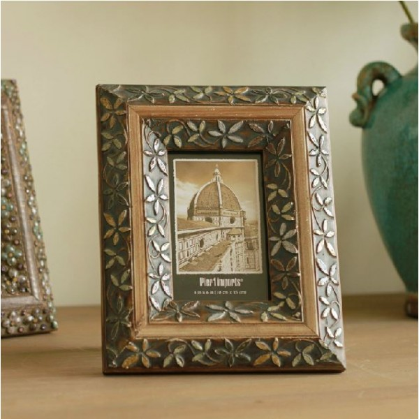 Retro Handcraft Oil Painting Photo Frame