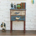 Mediterranean-style Two Drawers Cabinet