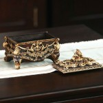 Luxurious Carving Jewelry Box