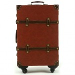 Classic Synthetic Leather Luggage Set