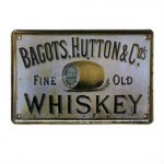 Vintage Bar Style Tinplate Painting