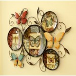 Country-style Butterfly Iron Wall Decoration