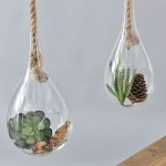 Water Drop Shaped Glass Ornament