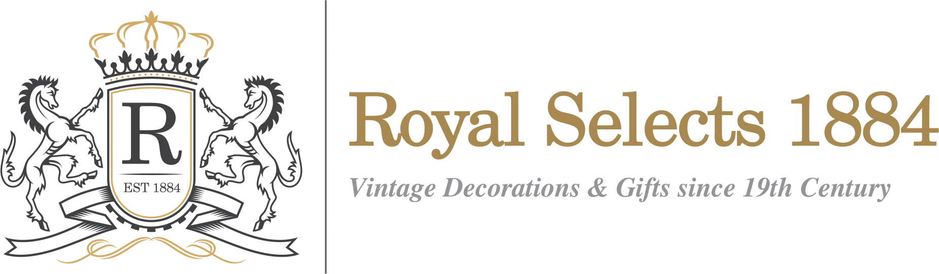 Royal Selects 1884 | Vintage Decoration for Home, Restarant & Retail Shop